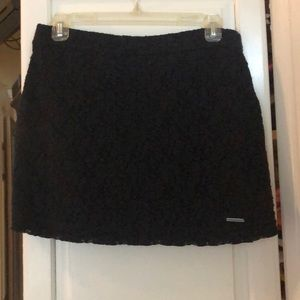 Abercrombie & Fitch navy blue skirt